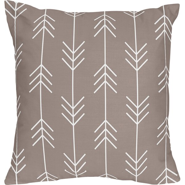 Outdoor Adventure Cotton Throw Pillow by Sweet Jojo Designs