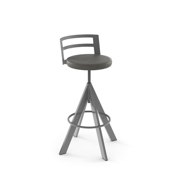 Chianna Adjustable Height Swiel Bar Stool by 17 Stories