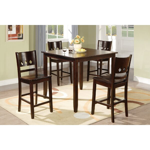 Fessler 5 Piece Solid Wood Dining Set By Winston Porter Looking for