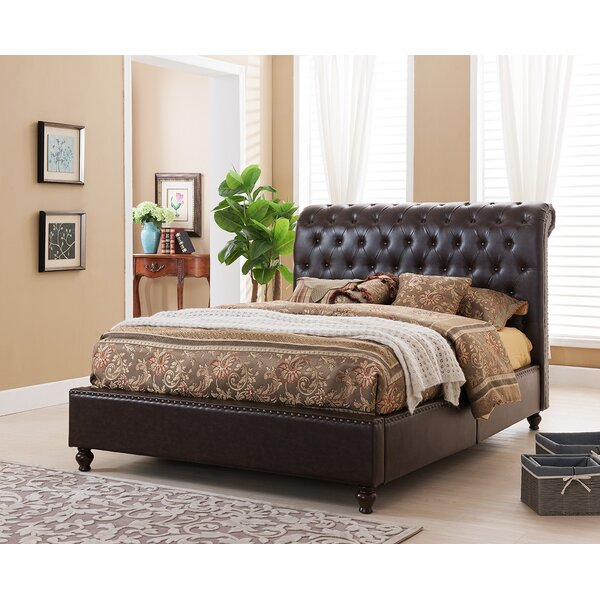 Gina Upholstered Platform Bed by Alcott Hill