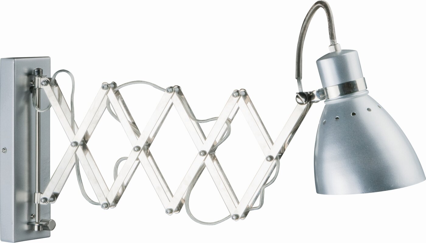 Steinhauer spring swing arm wall light reviews wayfair spring swing arm wall light mozeypictures Image collections