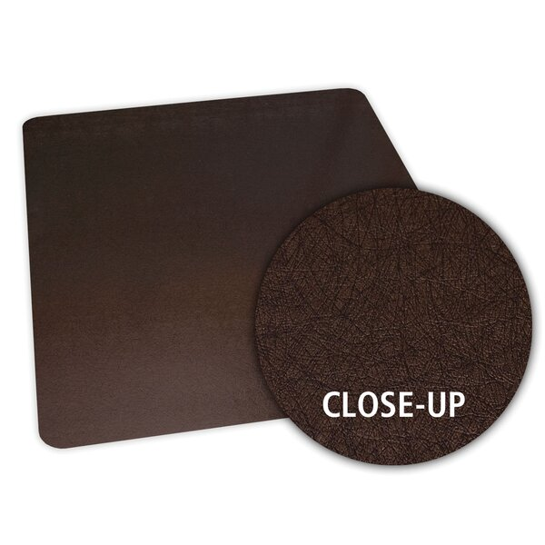 Bronze Design Chair Mat by ES Robbins Corporation