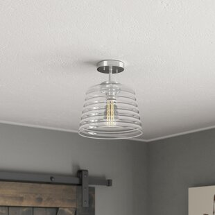 Find the perfect Salley 1-Light Semi Flush Mount By Wrought Studio