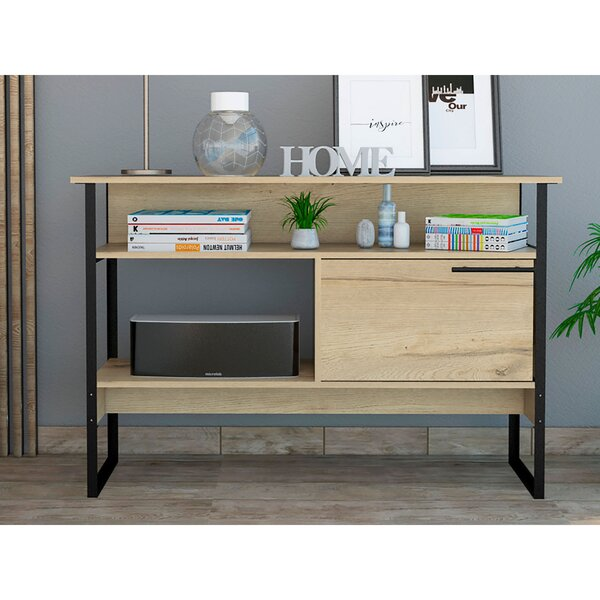 Union Rustic Console Tables With Storage