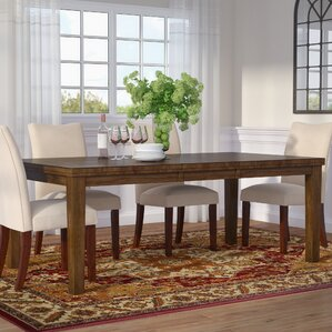 Expandable Dining Room Tables Endearing Extendable Kitchen & Dining Tables You'll Love  Wayfair Inspiration