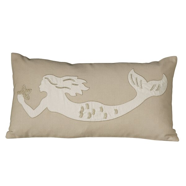 Marina Mermaid Embellished Pillow Cover by Birch Lane™