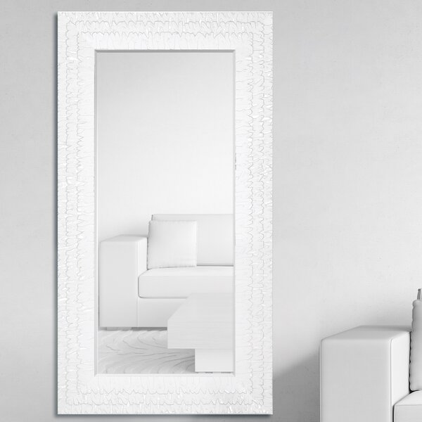 Oversized Rectangular Framed Beveled Glass Wall Mirror by Majestic Mirror