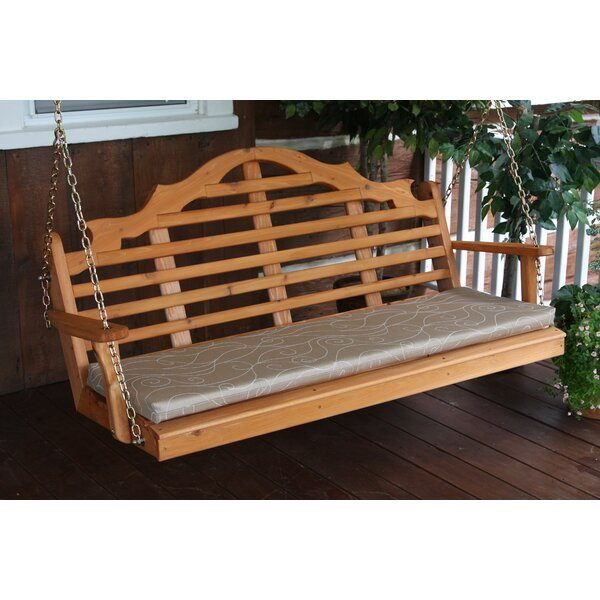 Coury Porch Swing by Rosecliff Heights