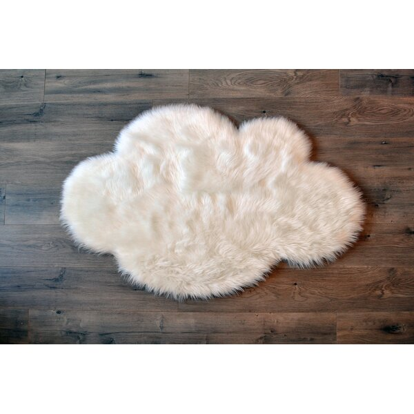 White Area Rug by Kroma Carpets