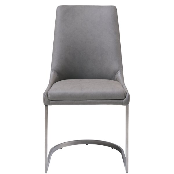 Paralimni Upholstered Dining Chair (Set Of 2) By Wrought Studio