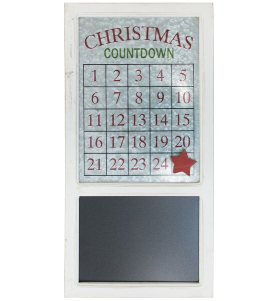 Magnetic Advent Calendar with Chalkboard by The Holiday Aisle