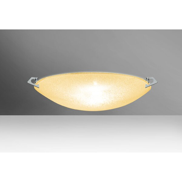 Sonya 2-Light Outdoor Flush Mount by Besa Lighting