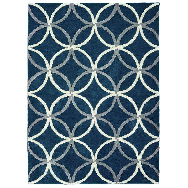 Alhambra Denim/Blue Area Rug by Mercer41