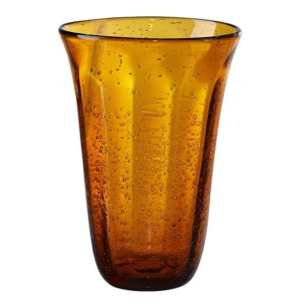 Maura Bubble Highball Glass (Set of 4) by Fleur De Lis Living
