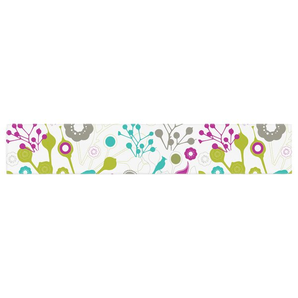 Nicole Ketchum Bird Fantasy Table Runner by East Urban Home