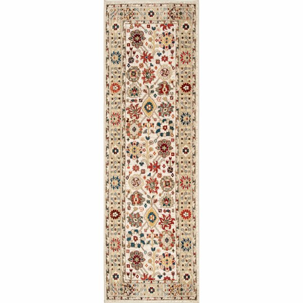 Dupuy Light Beige Area Rug by Bloomsbury Market