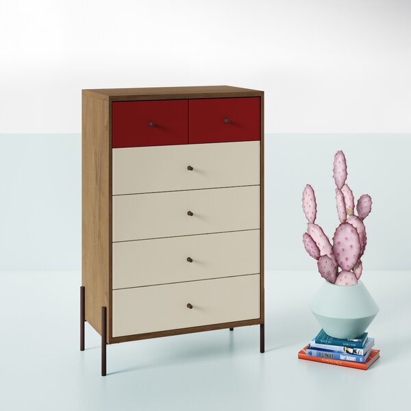 Alviso 6 Drawer Dresser by Hashtag Home