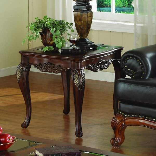 Montaillou End Table By Astoria Grand