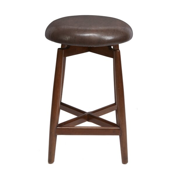 Castorena Modern 24 Swivel Bar Stool by George Oliver