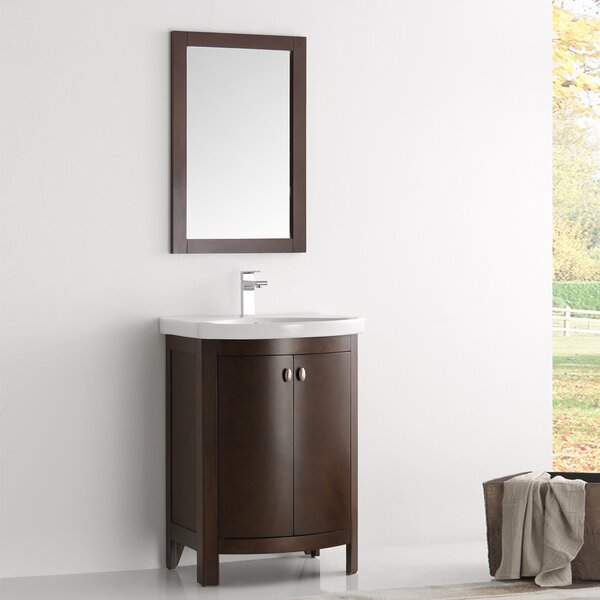 Cambria Greenwich 25 Single Bathroom Vanity Set by Fresca