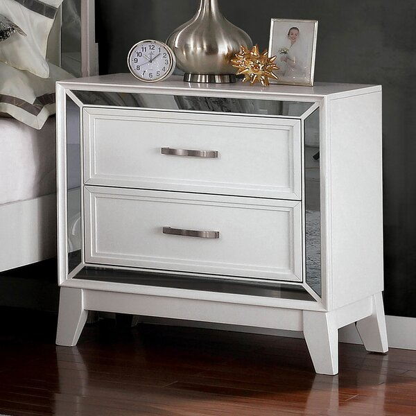 Westra 2 Drawer Nightstand by Rosdorf Park