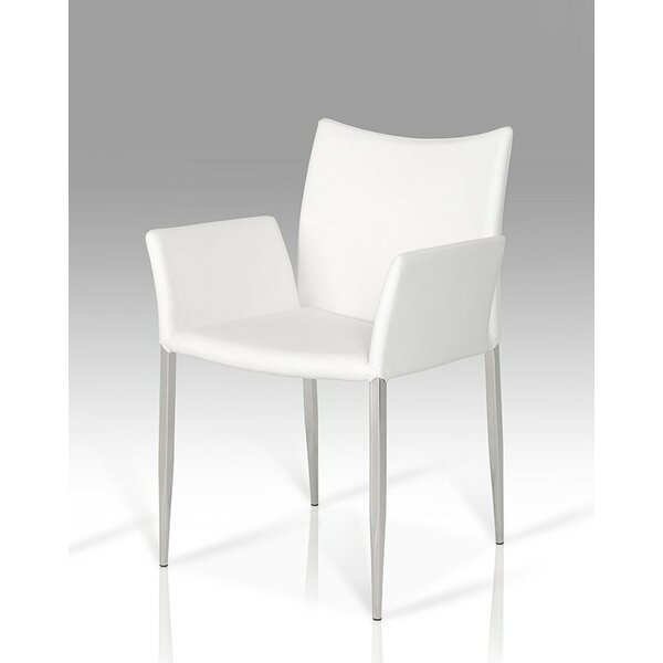 Clower Patio Dining Chair with Cushion by Orren Ellis