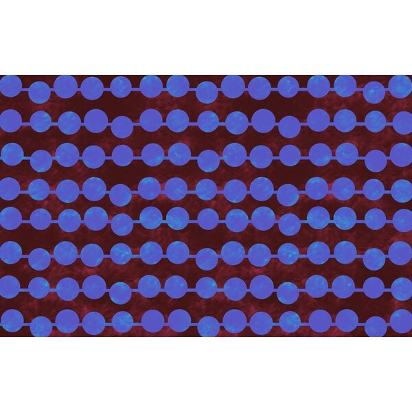 Line Dots Bright Rug by Manual Woodworkers & Weavers