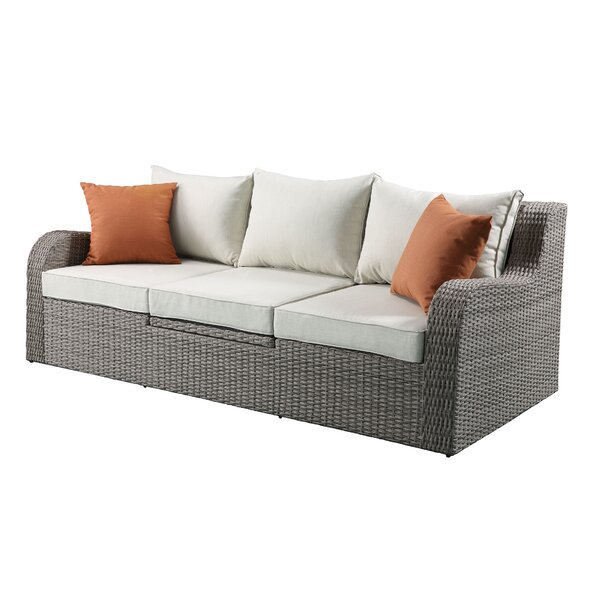 Snellville Patio Sectional with Cushions by Rosecliff Heights