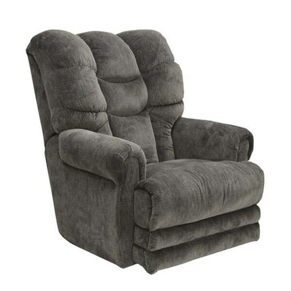 Deals Ranchester Lay Flat Power Recliner With Ottoman