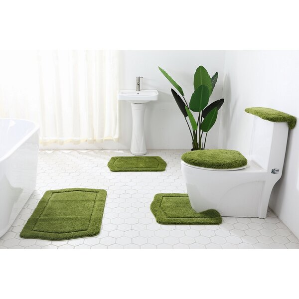 5 Piece Bath Rug Set Wayfair