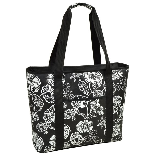 30 Can Night Bloom Extra Large Insulated Tote Cooler by Picnic at Ascot