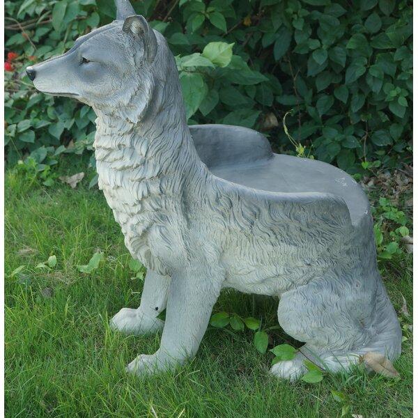 Wolf Chair by Hi-Line Gift Ltd.