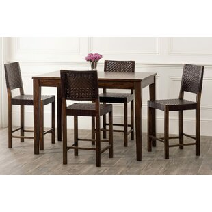Gambino 5 Piece Dining Set By Bloomsbury Market