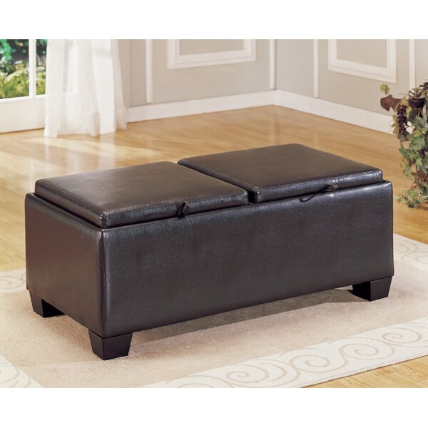 Belmont Storage Ottoman by Woodhaven Hill