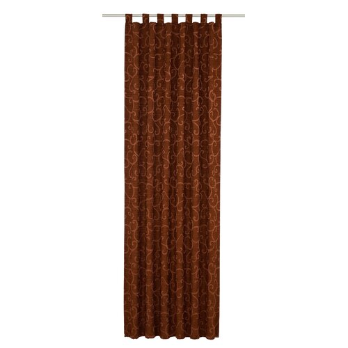 Siglerville Tab Top Blackout Thermal Curtain Ophelia and