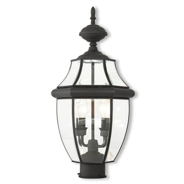 Halcomb 2-Light Lantern Head by Three Posts