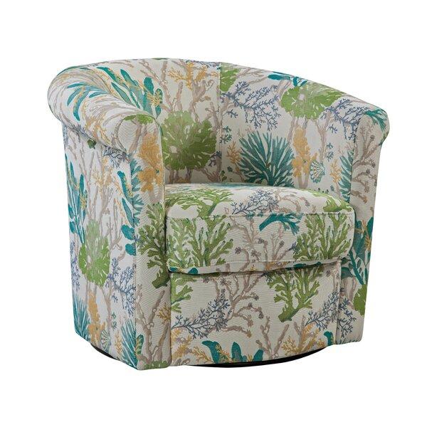 Pinehill Swivel Barrel Chair by Winston Porter Winston Porter