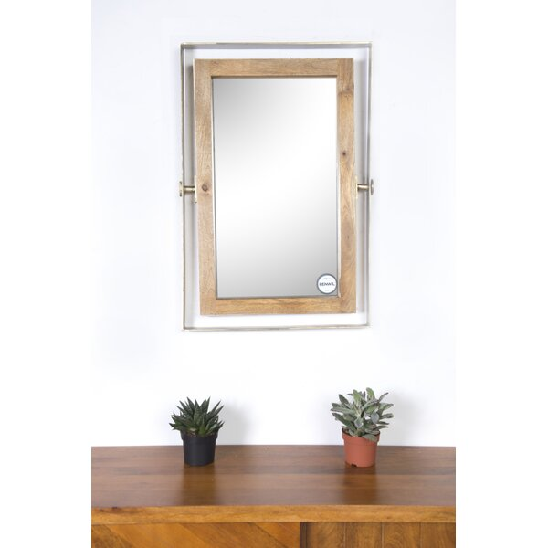 Costanoan Wall Mirror by Canora Grey