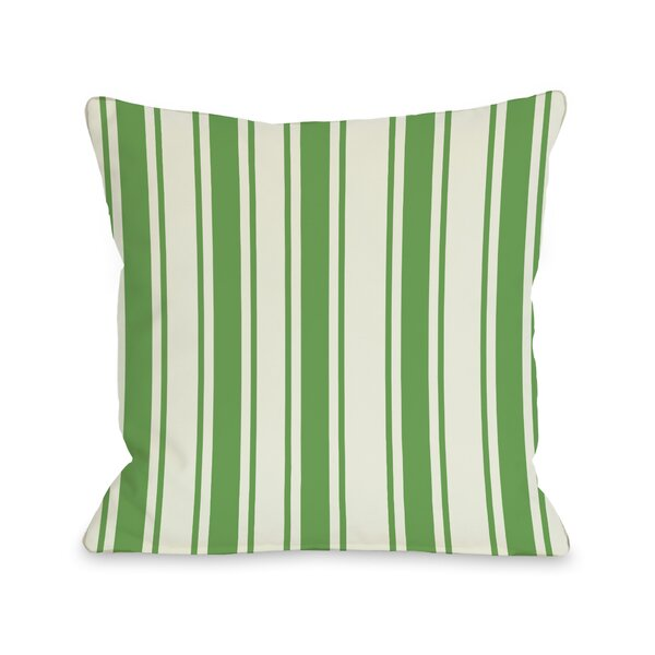 Winning Stripes Throw Pillow by One Bella Casa