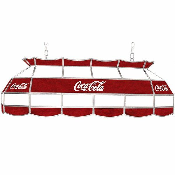 Coca Cola Pool Table Light by Trademark Global