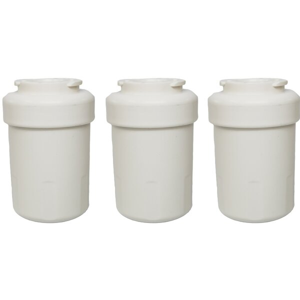 GE Refrigerator/Icemaker Water Purifier Filter (Set of 3) by Crucial