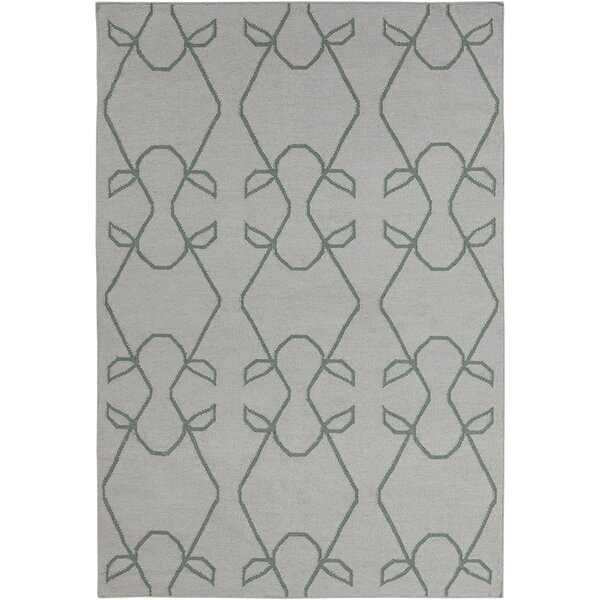 Mittler Abstract Wool Rug by Ivy Bronx
