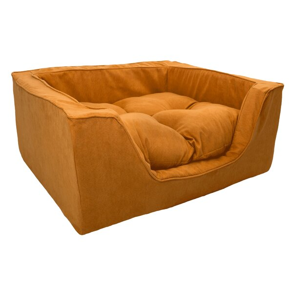 Luxury Solids Micro Suede Bolster by Snoozer Pet Products