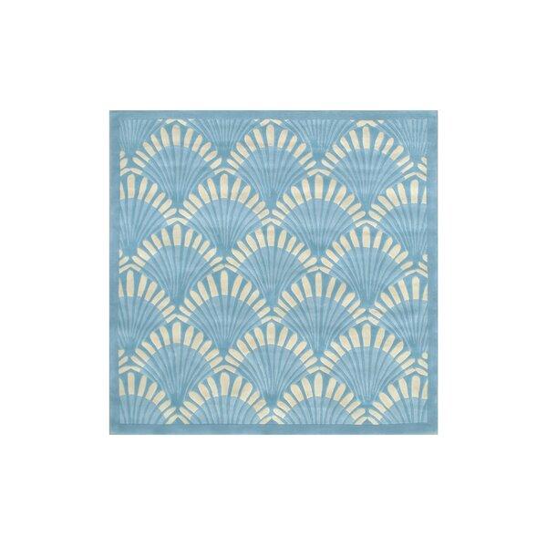Aalin Hand-Tufted Blue Area Rug by Everly Quinn