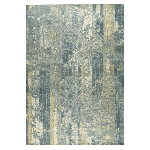 Hayward Hand-Woven Gray/Beige Area Rug by M.A. Trading