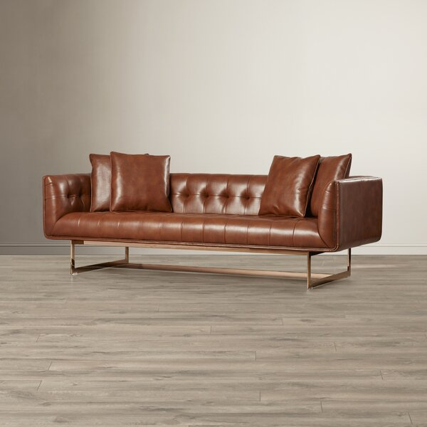 Fine Quality Fredette Chesterfield Sofa by Comm Office by Comm Office