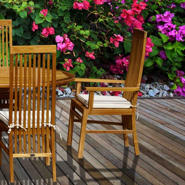 Brenner Teak Patio Dining Chair By Darby Home Co