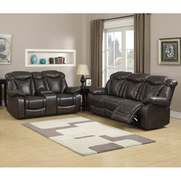 Madison Reclining 2 Piece Living Room Set by Living In Style
