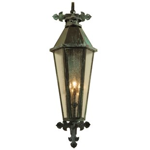 Looking for 3-Light Outdoor Wall Lantern By Meyda Tiffany