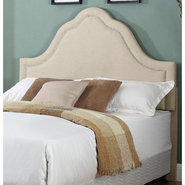 Scaife Upholstered Panel Headboard by House of Hampton